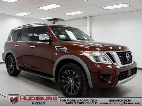 New 2017 Nissan Armada Platinum With Navigation