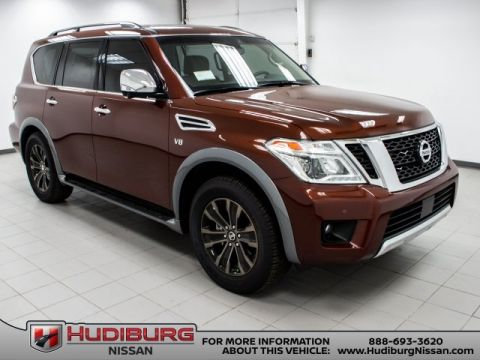 New 2017 Nissan Armada Platinum Captain's Chairs Package RWD 4D Sport Utility